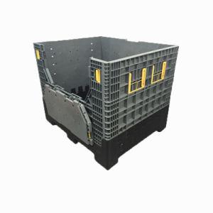 China Wholesale 880litros Bandeja de palets de plástico plegables para la industria