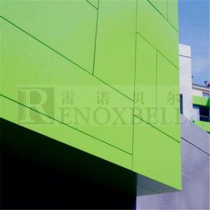 Wundervolle Aluminiumfassadenelemente für Wand-Umhüllung