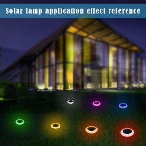 LED de luz solar césped resistente al agua y luz con el RGB Dust-Free