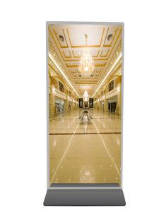 Le Miroir magique 42~98 pouce Ad Interactive player lecteur vidéo multimédia de réseau de signalisation numérique HD LCD Affichage de publicité