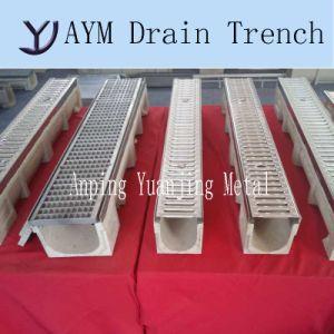 En1433 Стандарт оцинкованной стали скрип полимерные дренажные траншеи канал