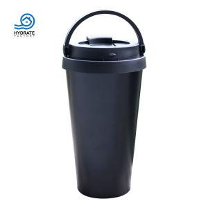Leck-Beweis-doppel-wandige Edelstahl-Kaffeetassen mit Griff