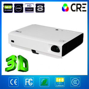 1080P 1280*800のオフィスプロジェクター300inch 3Dレーザープロジェクター