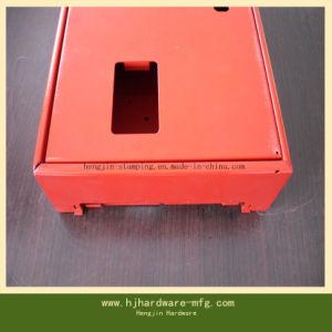 Soem-Präzisions-Blech-Teil des numerisches Steuerfalles /Box