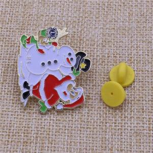 Personalizzare il Pin del risvolto di natale dei regali del distintivo del metallo per natale