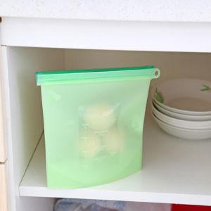ホームのための新しいデザインシリコーンの食糧記憶袋の食品安全性の等級の保存の容器