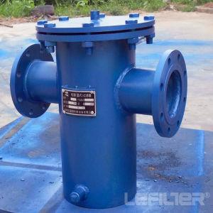 Acier inoxydable de l'eau du boîtier de filtre de pression de filtre à tamis de remplissage