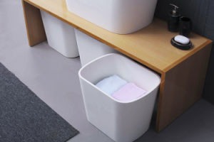 목욕탕 가구를 위한 아크릴 단단한 지상 위생 상품 목욕탕 물동이