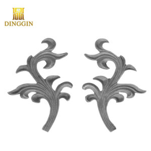 装飾用の鋳鉄は装飾的な錬鉄を分ける
