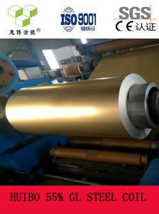 Bobina de aço Galvalume Beautiful-Spangle 55% Gl Steel