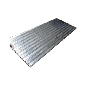 Dx51d ondulé galvanisé recouvert de zinc de toiture Prix feuille