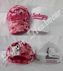 (LPM15069) 3D刺繍が付いている昇進のCamoの野球帽