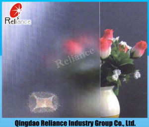 glas van het Patroon van 3mm10mm het Duidelijke/Voorgesteld Glas