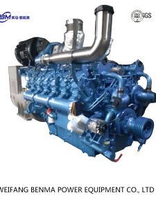 4 치기 12 실린더를 가진 Baudouin 상표 디젤 엔진 발전기
