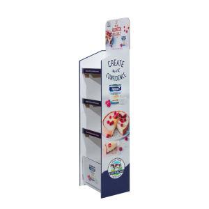 Papel POS Pop exibir caixas de papelão de Unidades de Exibição de papelão piso de venda a retalho para supermercados