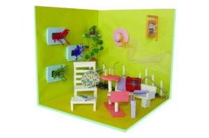 Boneca de madeira incrível Casa Viva Melhor Preço Wooden House brinquedo