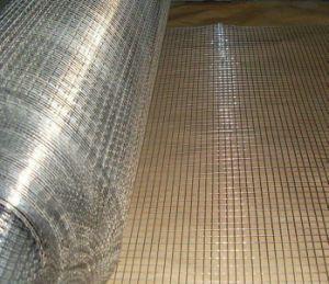 PVCは塀のための空港によって溶接された金網に塗った