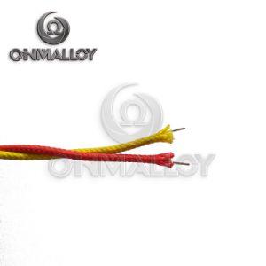 Sezione trasversale di tipo standard Nicr dell'ANSI K 2X0.5mm/cavo di estensione di termocoppia del collegare lega di Nial