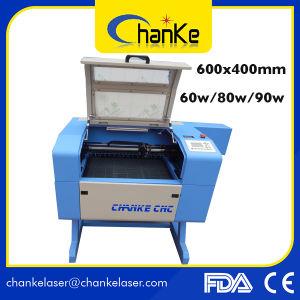 Ck5040 60W 나무 또는 Galss/아크릴 이산화탄소 소형 Laser 조판공