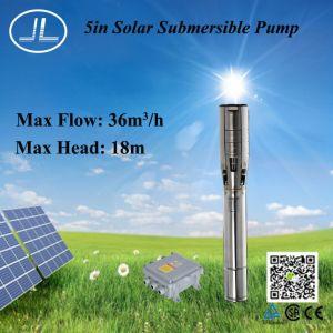 浸水許容のステンレス鋼の太陽水ポンプ、深い井戸ポンプ1350W