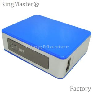 batería ligera de la potencia de 4400mAh LED con el cargador móvil portable del cable