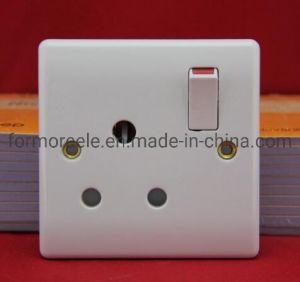 Interruptor de pared británico /interruptor eléctrico /15Un interruptor Gang