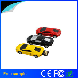 自由なロゴの昇進のギフトの金属車の形USBの棒8GB