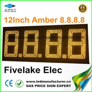 Информационное Табло на АЗС (NL-TT30F-3R-4D-AMBER)