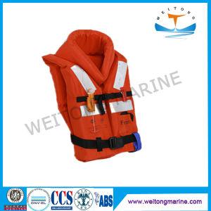 Gilet de sauvetage maritime de la convention Solas de mousse de travail de sécurité Gilet de sauvetage gilet de sauvetage gonflables pour adulte/enfant