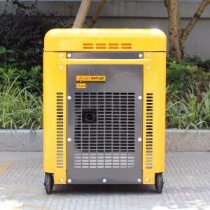 Generatore diesel silenzioso eccellente di tempo di lunga durata portatile del collegare di rame del bisonte (Cina) BS6500dsec 5kw 5kVA 5000W per la migliore vendita