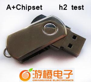 USB Flash Drive 1GB-32GB Capacity Size (OM-M105) di Swivel di alta qualità