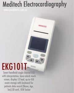 Meditech 101t Просто получить актуальную ЭКГ портативное устройство с одним каналом ЭКГ/Просто получить актуальную ЭКГ с принтером