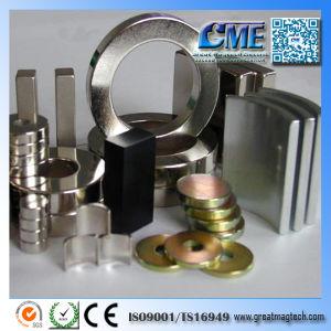 Высокое качество N35 N42 N52 Strong Неодимовый Ndefeb постоянного магнита
