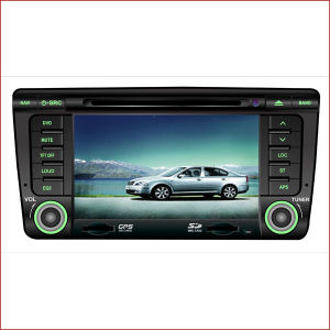 7  폭스바겐 Skoda를 위한 차 DVD GPS Touchscreen Bluetooth