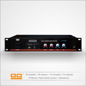 Sistema de megafonía amplificador con CE