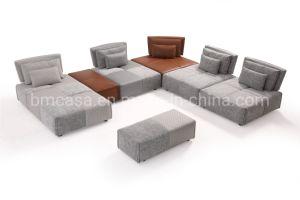 Italia modular estructura funcional de sofá con el respaldo de muebles de salón