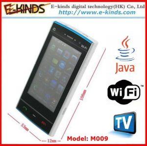 I prodotti di Phonesngerie delle cellule di LiM009 WiFi Java TV fanno del raso della prima classe e del tessuto chiffon -065
