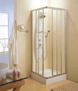 La puerta de la esquina de baño / ducha (WA-C090)