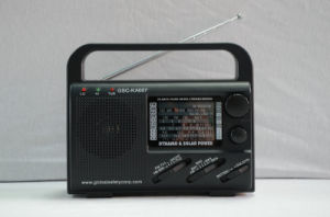 [لد] خفيفة [سلر بوور] مولّد غير مستقر مقبض [بروتبل] راديو شمسيّ