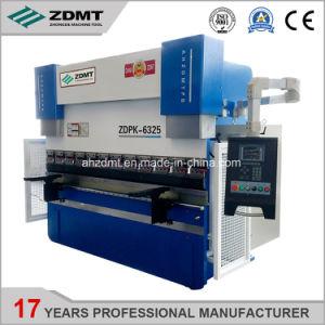 prensa de doblado CNC hidráulica máquina de doblado de acero de metal