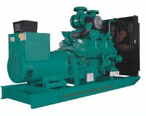 GF abrir conjunto gerador a diesel