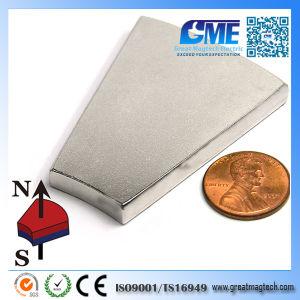Или203.2xir101.6xh6.35x22.5мм высокое качество NdFeB Arc магнита