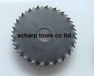 HSS Saw Blade con Bent Teeth