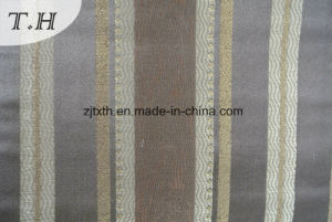 Tessuto del sofà del jacquard dei 2016 nobili con le bande verticali (FTH31859B)