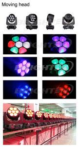 Super Mini 7*40Вт Светодиодные промойте зум при перемещении Колошения фонари