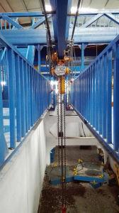 Kixio 0.5tonの工業ビルのトロリーが付いている電気チェーン起重機