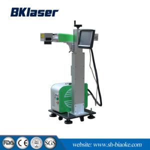 Macchina in linea della marcatura del laser di volo di CNC per il marchio 30W 50W