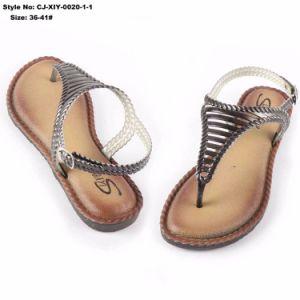 Semelle souple sandale plat pour dames