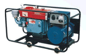 L'alimentation principale 5kw Groupe électrogène Diesel avec un seul groupe électrogène de vérin