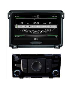 DVD GPS를 가진 Geely Ec7를 위한 두 배 DIN Lec 모니터